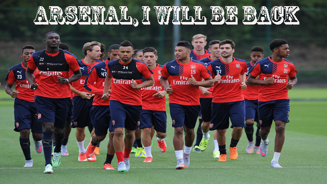 Arsenal back copy