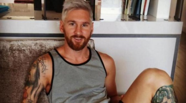 Messi Ubah tampilan gaya Rambut demi mengikuti Gaya