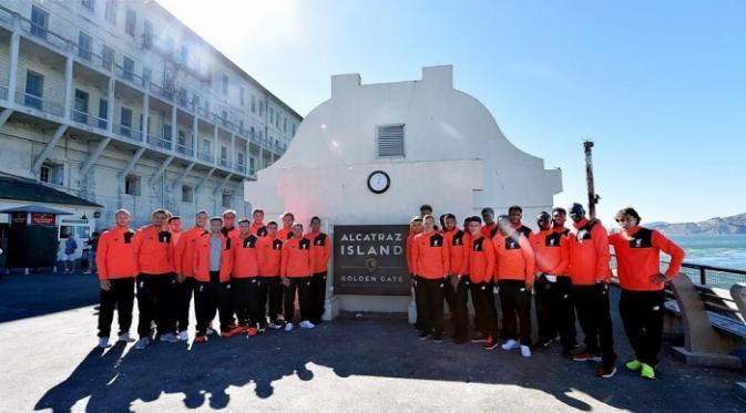 Tiba Di Amerika Serikat Tim Liverpool Masuk Ke Penjara