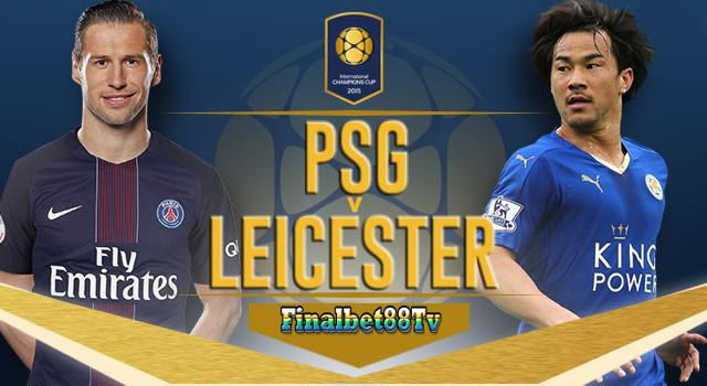 Report Hasil Pertandingan PSG kontra Leicester City