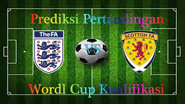 Prediksi Inggris vs Scotlandia 12 November 2016