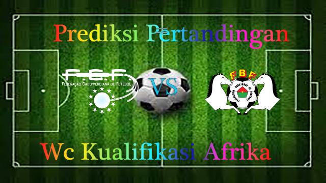 Prediksi Cape verde island vs Burkina faso 12 November 2016